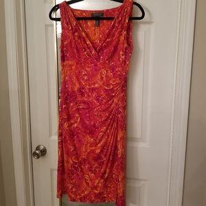 Ralph Lauren cinched waist dress